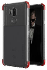 For LG G7 ThinQ Case | Ghostek COVERT Clear Hybrid Silicone TPU Shockproof Cover