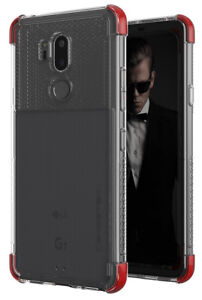For LG G7 ThinQ Case   Ghostek COVERT Clear Hybrid Silicone TPU Shockproof Cover