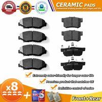 Front & Rear Ceramic Brake Pad for Honda CR-V 2005 2006 2012 2013 2014