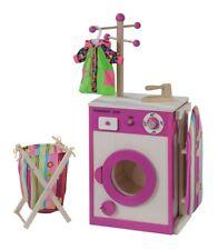 Wäschecenter / Kinderwaschmaschine / Bügelbrett aus Holz von howa 4814