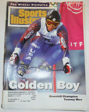 Sports Illustrated Magazine Tommy Moe Winter Olympics February 1994 012815R