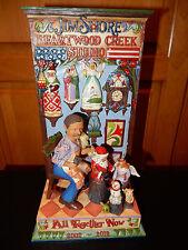 Jim Shore Heartwood Creek Enesco 10th Anniversary figurine ALL TOGETHER NOW NIB