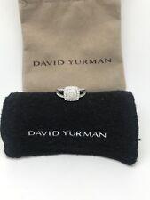David Yurman Petite Albion Ring Diamonds Pave Size 8