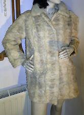 Pearl Nerzmantel Mink Fur Pelzmantel SUHL HUSUM Nerz Pelz hell beige 38 40 42