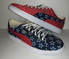 Fourth Of JULY Puma Stars And Stripes 4th Independence Day Sneakers Embroidered