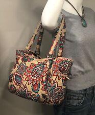 VERA BRADLEY Iconic Glenna Tote Large Size Bag Desert Floral