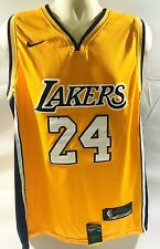 Nike Dri Fit Kobe Bryant #24 Jersey Soon to Be Hall of Fame Recipiant Size L New
