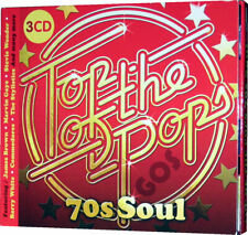 Top Of The Pops 70s Soul Music 3 CD Set 65 Tracks Of 1970s Songs Unsealed