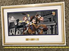 """Toy Story 2 McDonald's Poster """"Woody and Jessie Take a Wild Ride"""" 1999"""