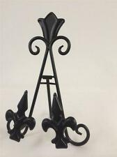 8 INCH BLACK IRON EASEL AA-23 SMALL PICTURE ART PHOTO PLATE STAND WEDDING HOLDER