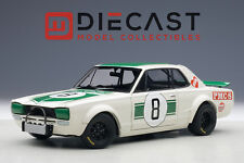 AUTOART 87177 NISSAN SKYLINE GT-R(KPGC-10), MASAHIRO HASEMI #8, 1:18TH SCALE