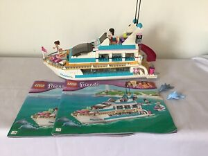 LEGO FRIENDS 41015 Dolphin Cruiser 95% COMPLETE