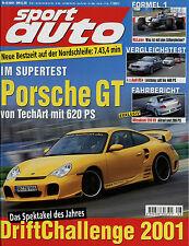 sport auto 8/01 2001 Audi RS4 B&B Evotech MTM Sportec BMW M3 Cabrio Mazda MX-5