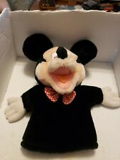 """VINTAGE DISNEY APPLAUSE MICKEY MOUSE PLUSH 12"""" HAND PUPPET APPLAUSE #14549"""