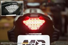 2015 2016 2017 Yamaha FZ-07 FZ07 MT-07 MT07 Sequential LED Tail Light Smoked