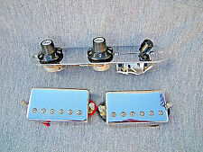 Fender® Tele Blacktop Chrome Humbucker Pickups Loaded Control Plate Telecaster