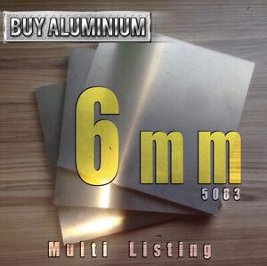 6mm Aluminium plate - 5083