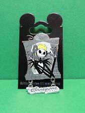 Pin's Jack Skellington & the Haunted Mansion - LE 600 ex Disneyland Paris Disney