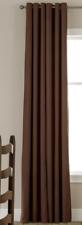 JCP Linden Street Grommet Thermal Panel Chocolate 40 X 72