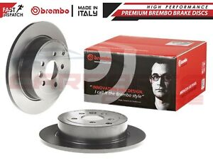 FOR LAND ROVER FREELANDER 2 REAR BREMBO COATED BRAKE DISC DISCS PAIR 302mm SOLID