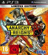 PS3 Anarchy Reigns Limited Edition UNCUT NEU&OVP Playstation 3 Paketversand