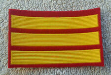 SOVIET UNION ARMY PATCH Officer Cadet 3 Years Service Stripes Badge USSR CCCP