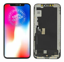 For Apple iPhone XS LCD Screen Genuine Soft Oled Replacement Display GX Black 3D