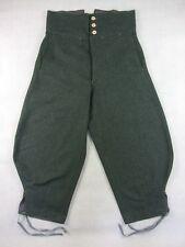 WW2 Italy Italian Infantry Troops M1935 Grey Green Wool Trousers