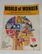 WORLD OF WONDER 6TH FEBRUARY 1971 - AIR LIFT TO BERLIN/OUR WONDERFUL BRAIN