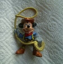 "Disney western: ""Mickey comme COW-BOY AVEC LASSO"": dessin animé de Bully"
