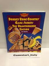 DONKEY KONG COUNTRY GAME SECRETS STRATEGY THE UNAUTHORIZED EDITION GUIDE ENGLISH