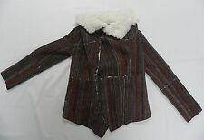 Roxy Moonstone Jacket Sweaters Coat True Black Stripe Retail 99.50