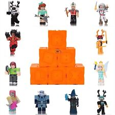 "New Roblox Series 6 Blind Box Orange Cubes Kids Toys 3"" Action Figures~No Codes"