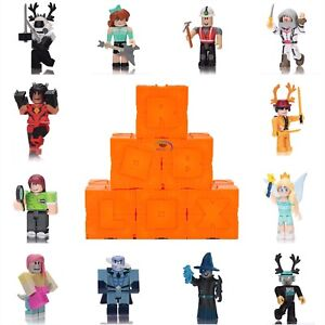 """New Roblox Series 6 Blind Box Orange Cubes Kids Toys 3"""" Action Figures~No Codes"""