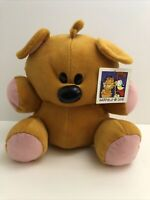 """Garfield and Odie Pooky Bear Plush Toy Factory 10"""" Tall NWT"""