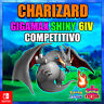"Charizard 6ivs ""Ultra Shiny or not"" Gigamax competitivo Pokémon Espada y Escudo"