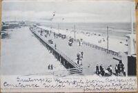 1905 Postcard: Boardwalk at Rockaway Beach - Queens, New York City, NY