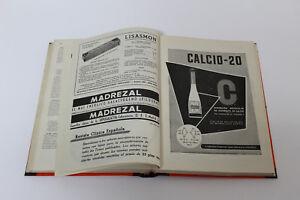 Antique Magazine Clinical Spanish Jimenez Diaz Tomo Lxii 1956 July A September