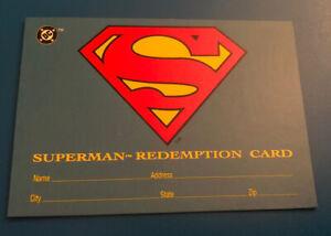 1993 Skybox DC Comics Bloodlines Superman Redemption Exchange Card S5