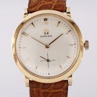 Vintage 18ct Rose Gold Omega Manual Wristwatch c. 1960s