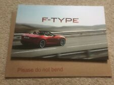 Jaguar F Type brochure FEB 2012 OVER 76 PAGES  FAST POST