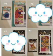 Disney cute Jewelry seal phone rhinestone sticker Miss Bunny Stitch Elmo Cookie