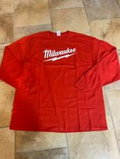 Milwaukee Tool Long Sleeve Or Short Sleeve Red TShirts S M L XL 2XL 3XL