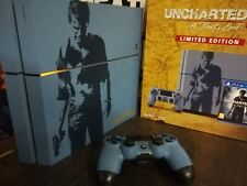 Console PS4 1 To  édition limitée collector FR Uncharted 4 - PlayStation 4