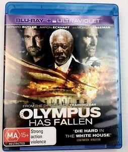Olympus has Fallen Gerard Butler blu-ray MA15+ Region B with free Post Tracking