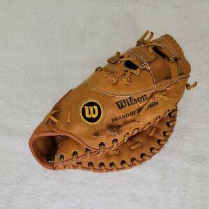 """Wilson A2840 Pro Model """"Pro Scoop"""" Right Hand First Basemen Mitt Glove Softball"""