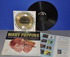 "Walt Disney's Mary Poppins USA '64 RCA LP+ ultra rare old golden Oscar flexi 7"""