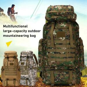 Military Tactical Backpack Camping Bag Travel Sports Waterproof Shoulder L3A1