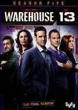 Warehouse 13: Season Five (DVD, 2014, 2-Disc Set)