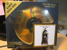 24K Gold CD DCC GZS-1060 Jim Croce 24 Karat Gold In A Bottle Sealed